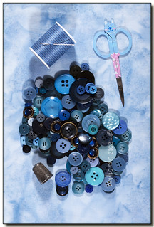 Blue Sewing Supplies | by Lisa-S