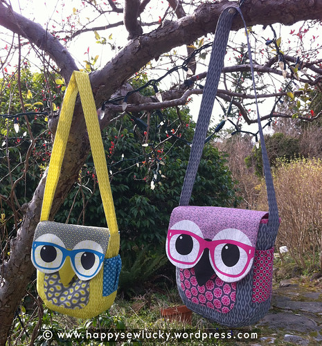 Geeky Owl Bags | by happysewlucky