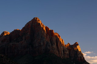 Zion: Last light on The Watchman | by Shahid Durrani