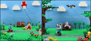 Playing in the Park 1966 vs 2016 | by AzureBrick