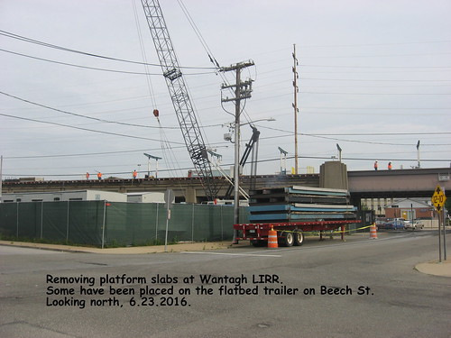Wantagh LIRR platform removal | by sphoto33