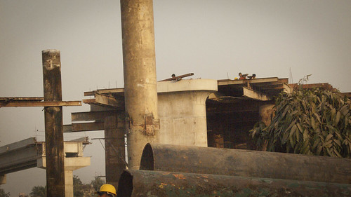 Overpass Under Construction, Dhaka | by changeorder