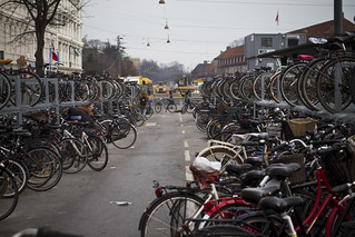 Nørreport Temporary Parking | by Mikael Colville-Andersen