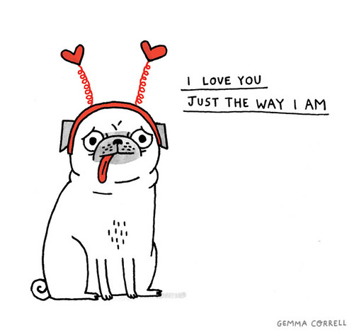 just the way I am | by gemma correll