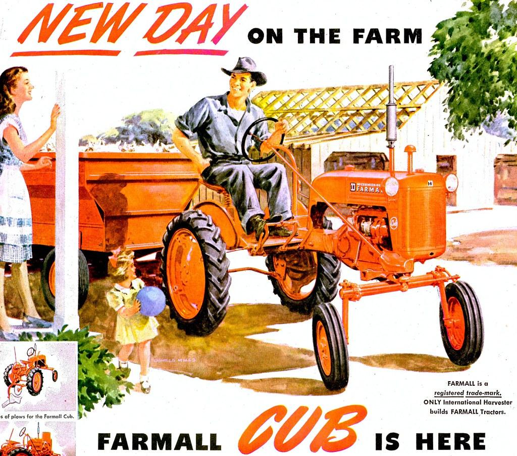 ... 1947 Farmall Cub (The original) - by dok1