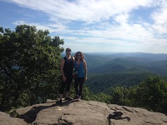 Kathryn and I on Blood Mountain