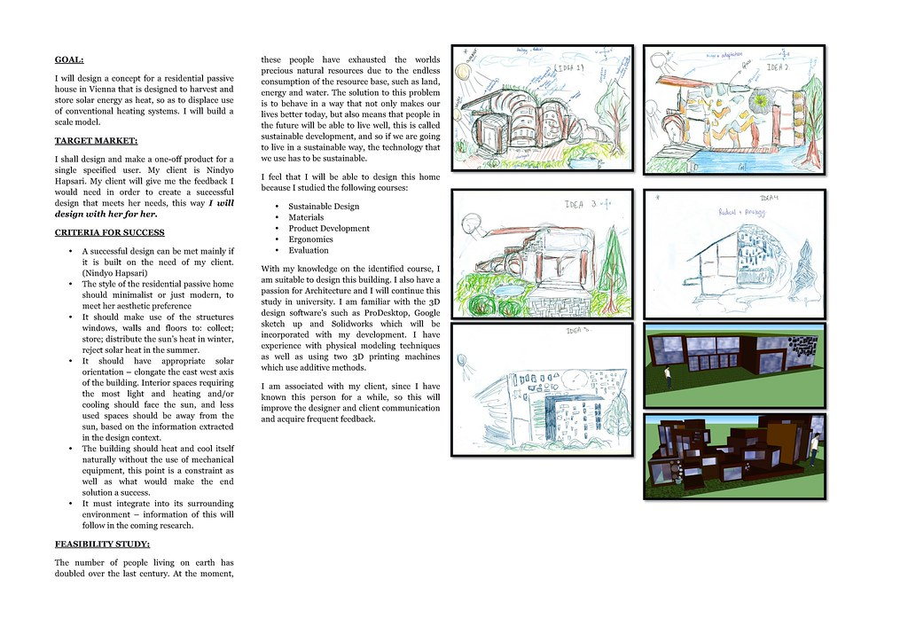 Design Brief For House House Design