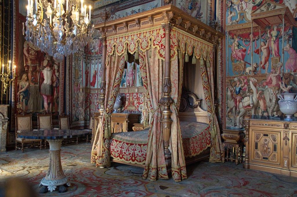 Koninklijke slaapkamer | Rijkversierde slaapkamer, Musée du … | Flickr