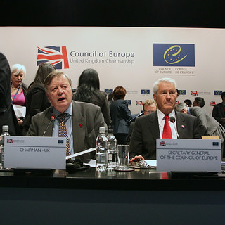 Kenneth Clarke, current Chairman of the European Council alongside the Secretary General | by ministryofjusticeuk