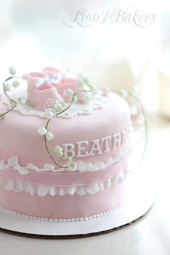 Pictures Of Baby Shower Cakes For A Girl