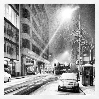 Snow in London | by paulgmccabe