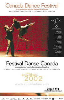 2002 Poster | by canadadancefest