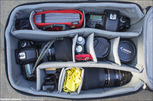 What's in my bag? | by benjacobsen