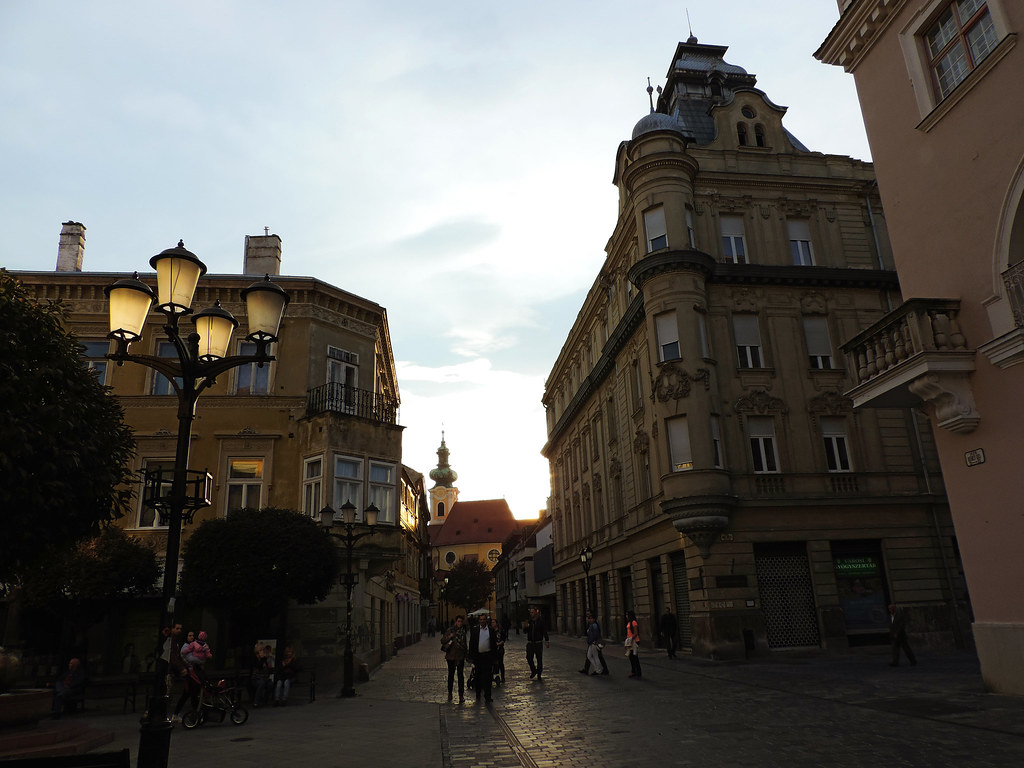 7 Charming Hungarian Cities: Gyor, Hungary
