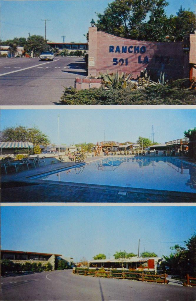 Rancho La Paz Mobile Home Park Anaheim