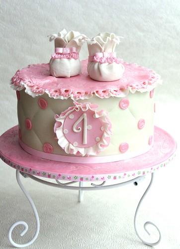 Baby Booties Cake Pan