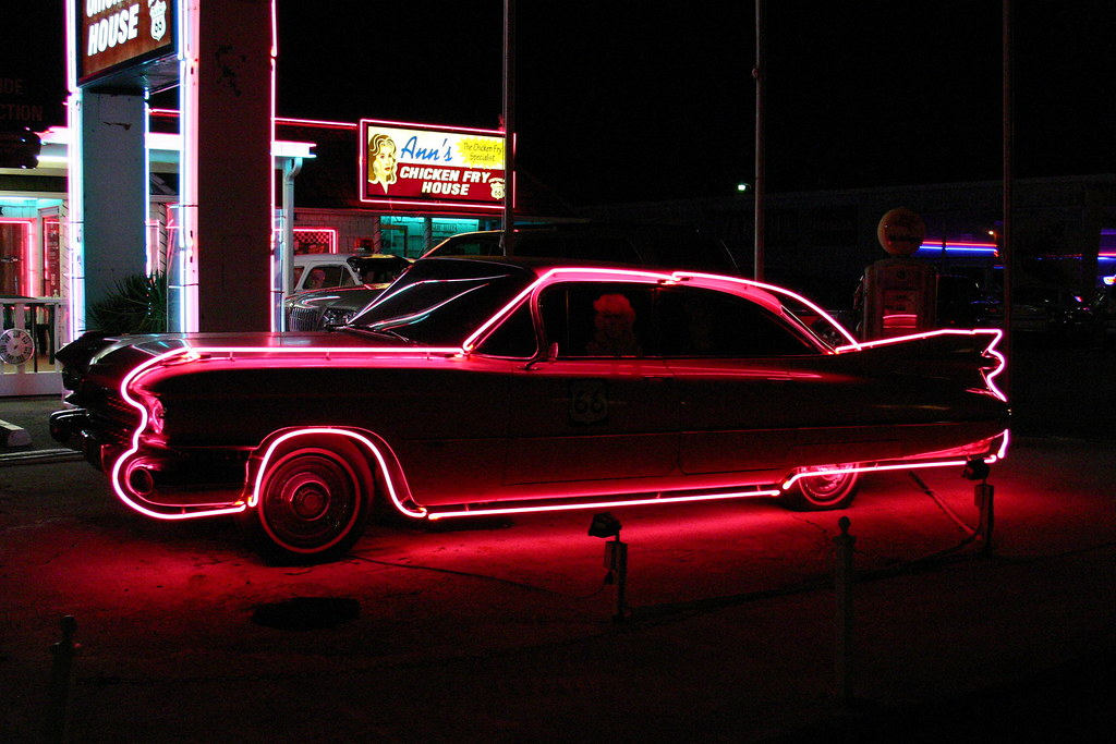 Pink Cadillac Anns Chicken Fry House Oklahoma City Flickr