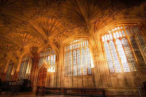 Old Oxford Library (Inside the Bodleian Library) | by Adon Buckley