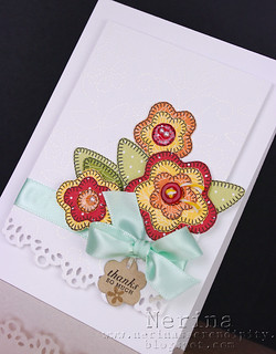 Quilted Flowers Deet | by Nerina's Cards