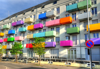 Colorful Balconies | by Habub3