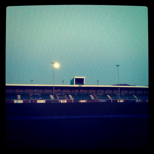 Mooning Over New Missoni: Moon Over Caerphilly Rugby Club