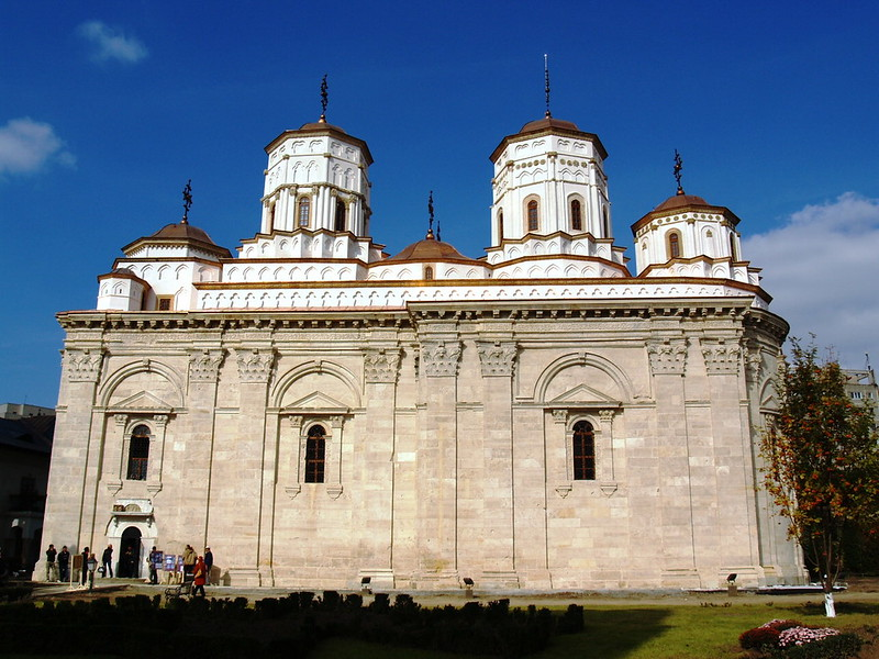 Golia Monastery, Iaşi, ROMANIA
