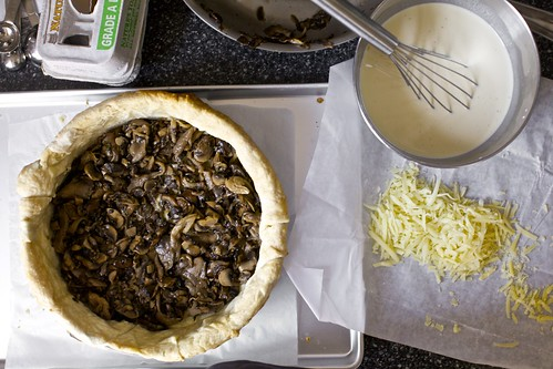 assembling the epic quiche | by smitten kitchen