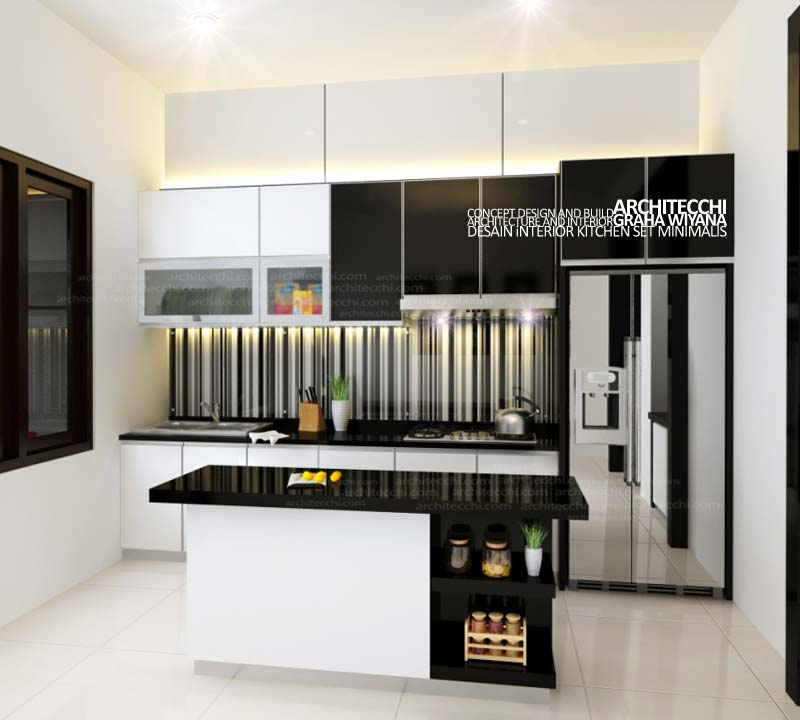 Desain Interior Dapur Kitchen Set Minimalis 0002image Flickr