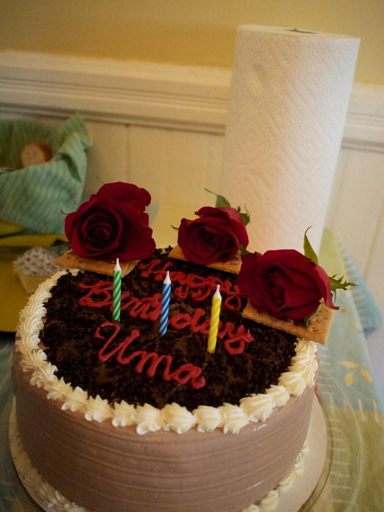 Uma S Birthday Cake Kvanyser Flickr
