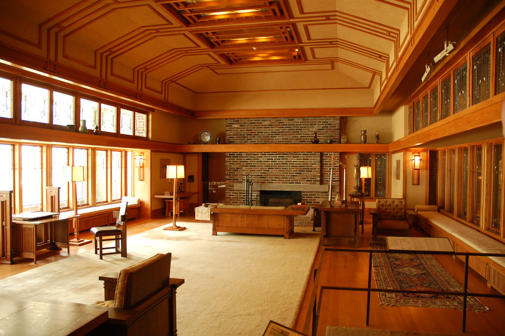 ... Frank Lloyd Wright Interior | By Nell1975