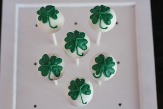St. Patrick's Day Cake Pops! | by Sweet Lauren Cakes