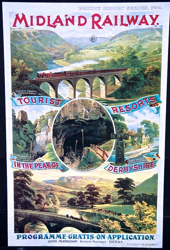Vintage railway poster on the GCR | by Chris Leigh