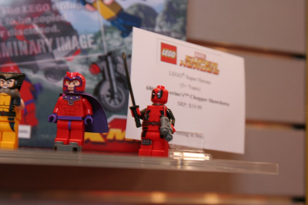 Toy Fair 2012 Lego Marvel Super Heroes 6866 Wolverine Flickr