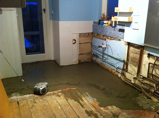 Kitchen: end of day one | by Meg Pickard