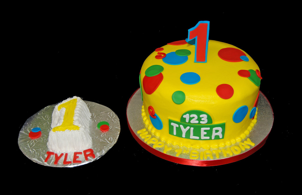 Prime 1St Birthday Cake For A Sesame Street Themed Party Flickr Personalised Birthday Cards Sponlily Jamesorg