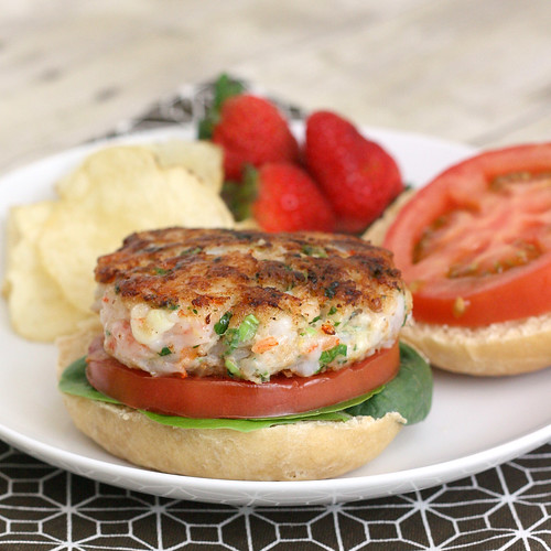 Shrimp Burgers | by Tracey's Culinary Adventures