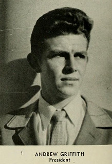Yearbook photo of Andy Griffith, University of North Carolina at Chapel Hill, 1947 | by North Carolina Digital Heritage Center