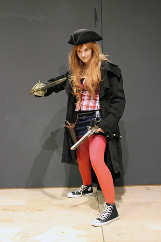 Malou as pirate Amy Pond | by House Of Secrets Incorporated