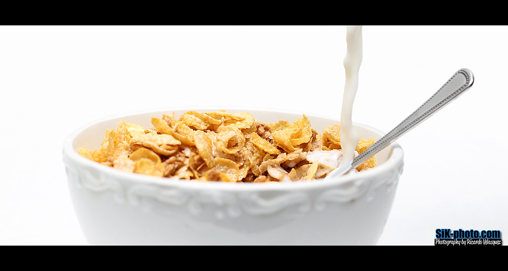 bowl of cereal honey bunches of oats with some cold milk flickr