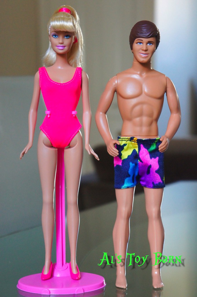 Barbie And Ken Swimsuit Outfits From Toy Story 3 Barbie S Flickr