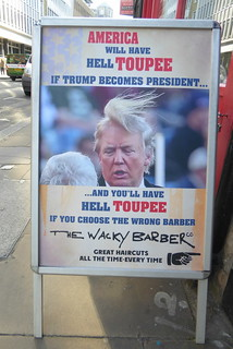 America will have hell toupee if Trump becomes President...
