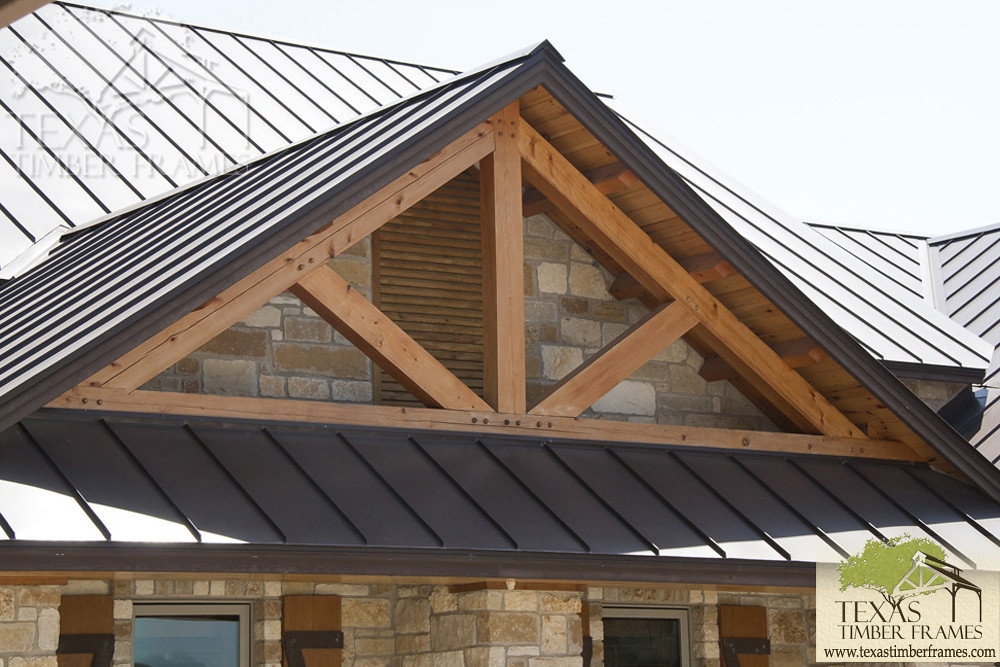 Exterior Truss - Texas Timber Frames | Texas Timber Frames | Flickr