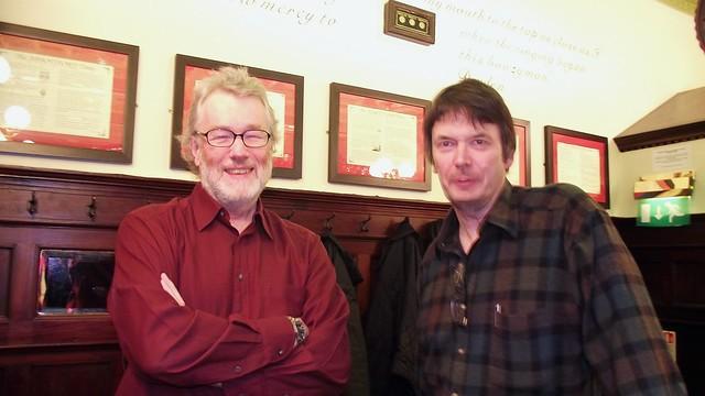 An Iain and an Ian go into a bar
