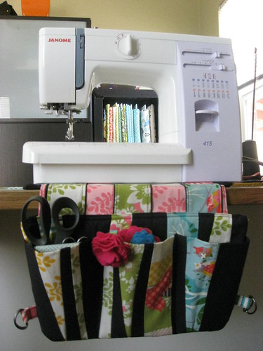 Studio Apron/Sewing Caddy/Chair Caddy | by Jules loves stitches