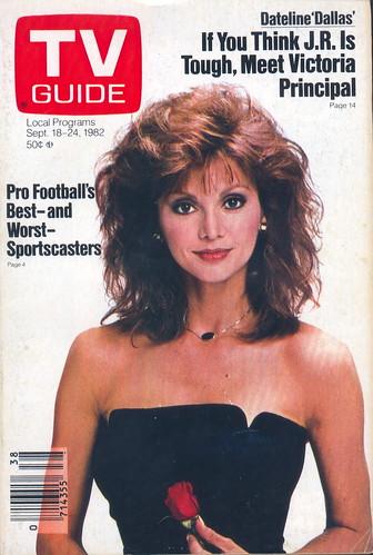 Tv Guide 1538 September 18 1982 Victoria Principal Of