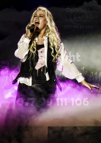 X-Factor Tour 2012 - Amelia Lily ! | by James Whorriskey (Delbert Jackson)