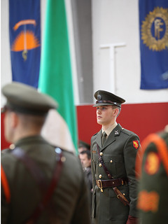 On parade | by Irish Defence Forces
