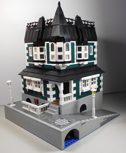 Modular House Above a Pub | by Dr. Legostar