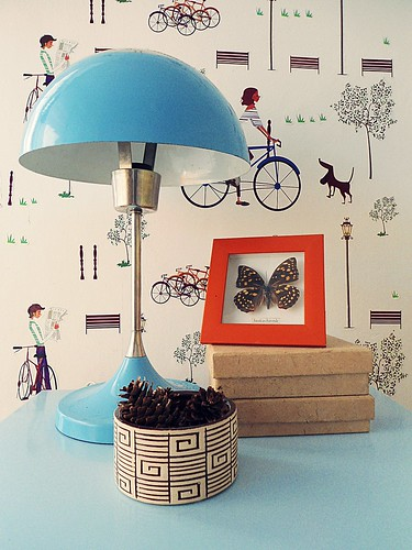 blue vintage lamp 4 | by mihameeha