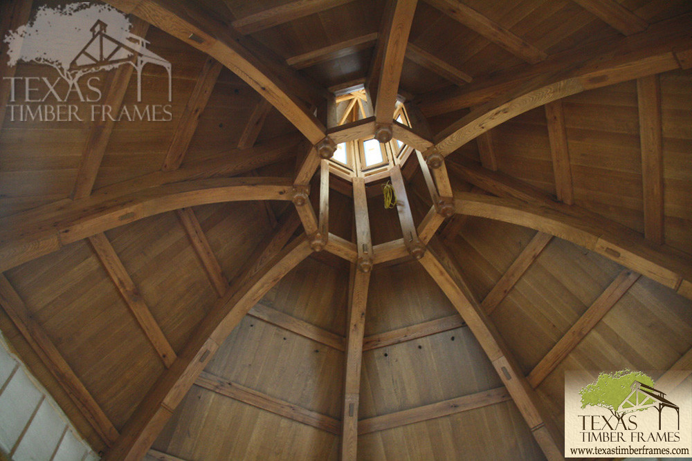 Octagon Ceiling - Texas Timber Frames | Texas Timber Frames | Flickr